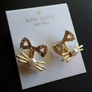 Kate spade gold pave out west earrings